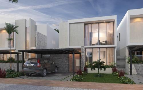 Casa Nueva En Venta En Privada Siara, Modelo Adonia, Dzitya, Mérida Norte