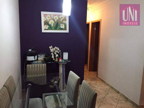 Imagem 1 de 14 de Apartamento Com 2 Dormitórios À Venda, 54 M² Por R$ 250.000 - Ap1564