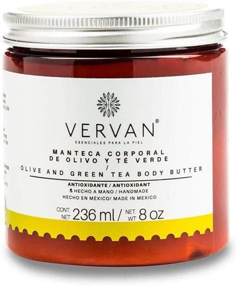 Vervan - Crema Corporal De Olivo Y Té Verde 236ml