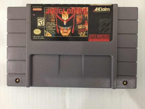 Judge Dredo Súper Nintendo
