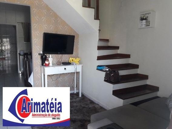 Sobrado - 2 Dormitórios - Mobiliado - 2 Vagas De Garagem - Aceita Permuta - 0592 - 32018407