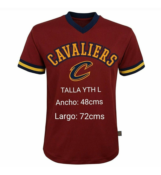 Sueter Nba Cleveland Cavaliers Talla Youth L (adultos S)