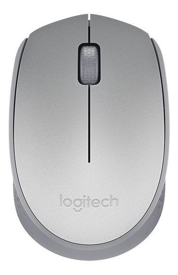 Mouse Logitech M170 Prata Sem Fio