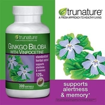 Ginkgo Biloba 300 Soft 120 Mg Tr - Unidad a $108900