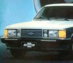 Opala Diplomata 1985 Alcool Automatico 6cc