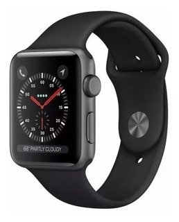 Apple Watch S3 Series 3 38mm Gps Prova D´água Black