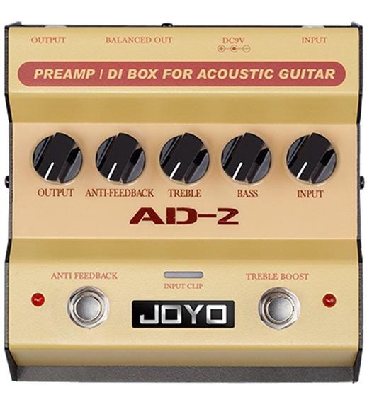 Pedal Joyo Ad-2   Preamp E Direct Box   Para Violão