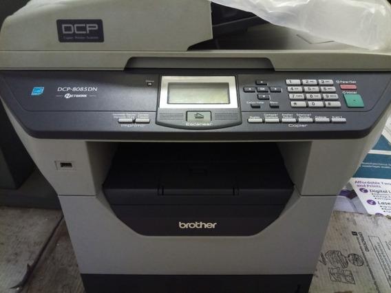 Multifuncional Brother Dcp-8085dn Revisada Com Toner!