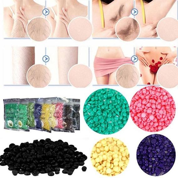 Cera Para Depilar Elástica Perlas Hot Wax 100g Tienda Física