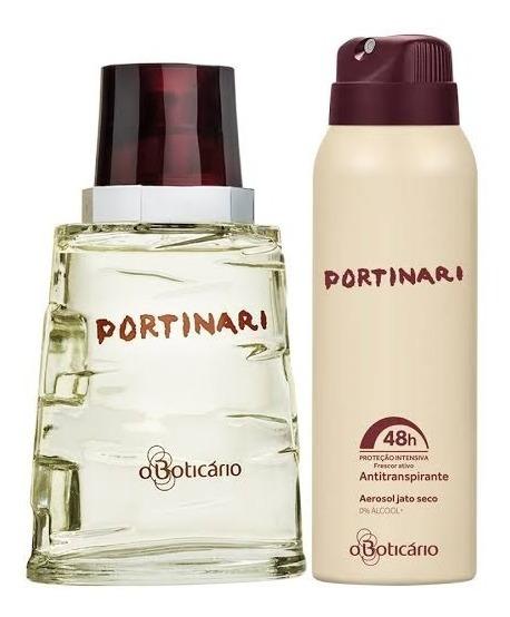 Portinari Perfume Masculino Boticario+aerosol