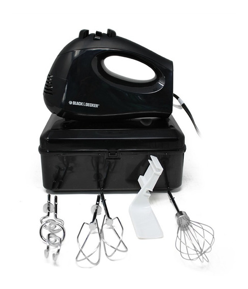 Batidora 6 Vel Y Accesosrios Caja Negra Black & Decker Mx217