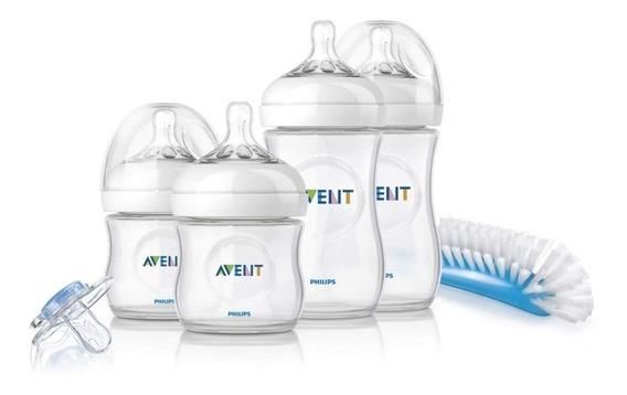 Kit Set De Teteros Avent Natural, Anti Gases