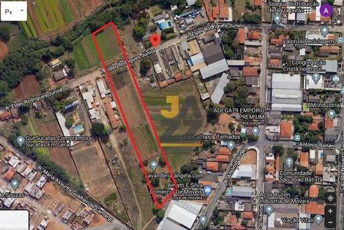Imagem 1 de 1 de Terreno À Venda, 12000 M² Por R$ 1.850.000,00 - Chácara Três Marias - Campinas/sp - Te3206