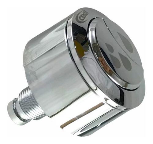 Acionador Caixas Acopladas Abs Cromado Dual Flush Censi