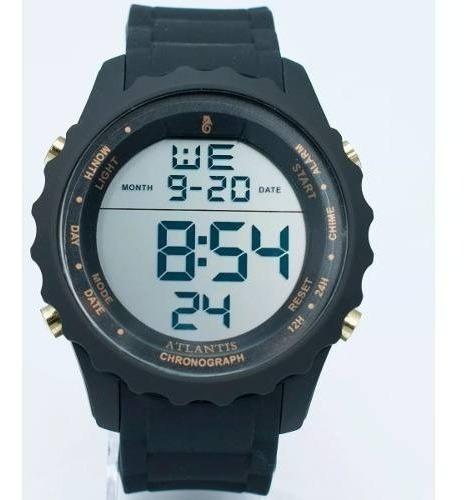 Relógio Masculino Digital Esportivo Cronômetro Frete Gratis