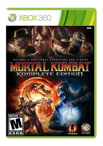 Imagen 1 de 4 de Mortal Kombat  Komplete Edition Warner Bros. Xbox 360 Físico