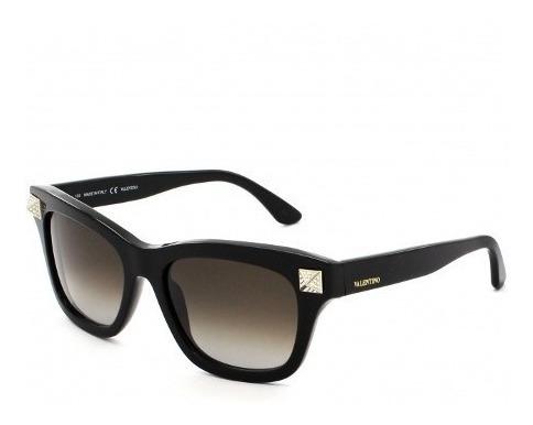 Óculos De Sol Feminino Valentino Preto V656r Made In Italy