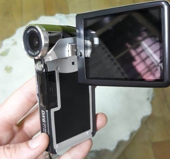 Câmera Filmadora Hd Digital Dxg-569v + Case Pra Transporte