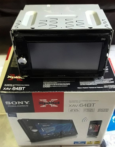 Imagen 1 de 8 de Estereo Sony Xav-64bt