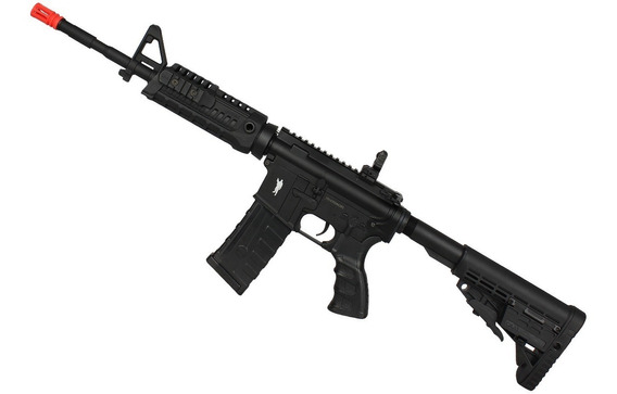 Rifle Airsoft Elétrico King Arms M4a1 Caa Custom (220v)