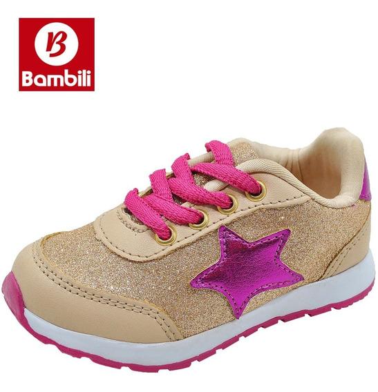 Tênis Infantil Bambili Sport Menina Feminino - J3934c.01