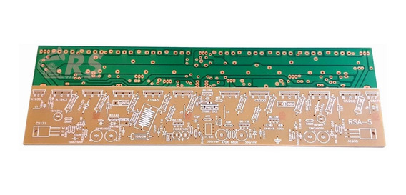 Placa Lisa Amplificador 700w Rms P/ 5-a1943 E 5-c5200