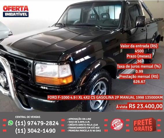 Ford F-1000 1998 4.3 Xlt 4x4 2p