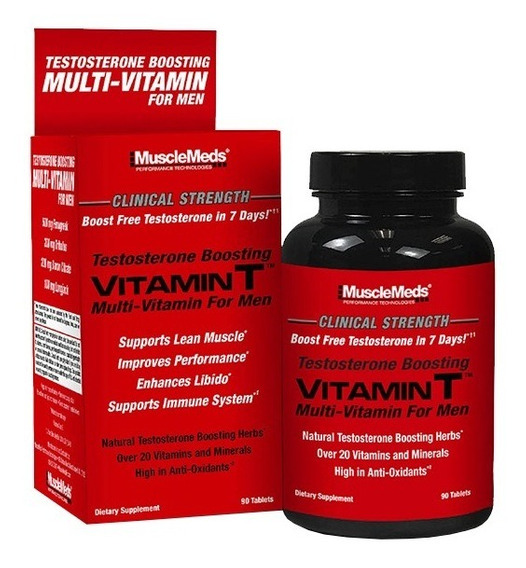 Musclemeds Vitamin T Vitaminico Boost Test 90 Tab Carnivor