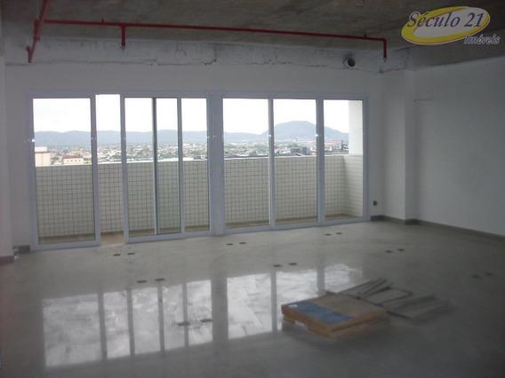 Sala Comercial Para Locação, Centro, Santos. - Sa0163