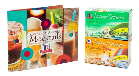 Combo Infusiones Mccormick 1