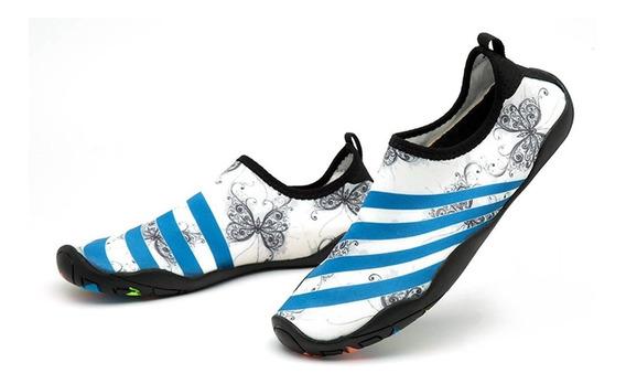 181 Homens Mulheres Água Sapatos Sapatos De Natação Cor Sóli