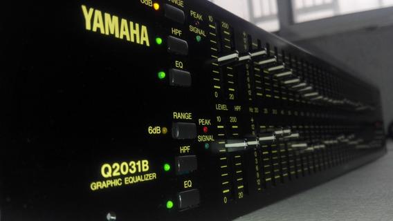 Yamaha Q2031b 31 Bandas P Canal Ecualizador Studio/concert