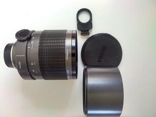 Lente Telefoto Réflex 600 Mm Sigma Montura Nikon F