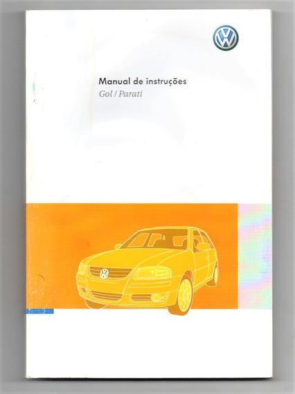 Manual Do Proprietario Vw Gol G4 Parati 2010 Em Branco