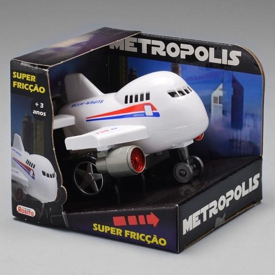 Avião Super Friççãometropolis Ref 9171