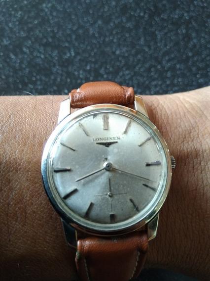 Reloj Antiguo Longines De 10 Kilates