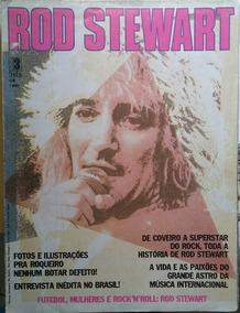 Pôster Rod Stewart 84 X 56 Cm