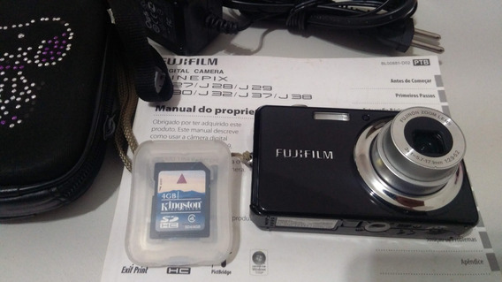 Câmera Digital Fujifilm Finepix J30 12.2 Megapixels + Sd 4gb