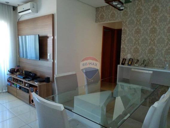 Apartamento De 2 Dormitórios, Pronto Para Morar No Condomínio Residencial Terra Brasil Em Nova Odessa - Ap0172