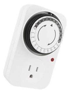 24 Horas Reloj Temporizador Mecánico De Salida En Casa