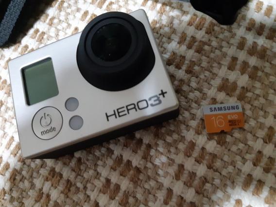 Câmera De Ação Go Pro Hero 3 Silver Full Hd