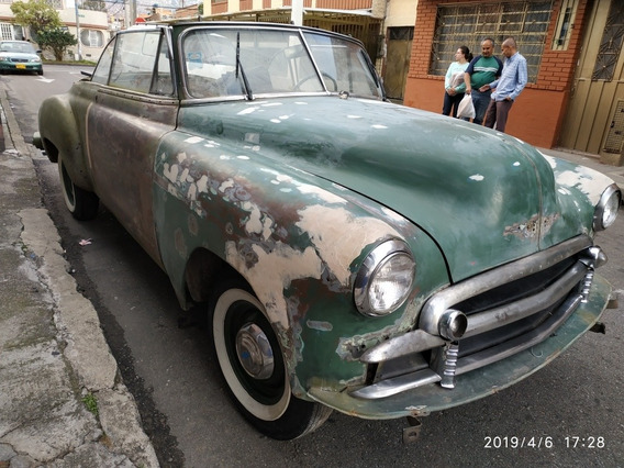 Vendo Antiguo 1950 Convertible Chevy Old Card