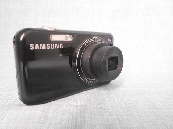 Máquina Câmera Digital Samsung Pl120 Pl 120 Faz Selfie Preta