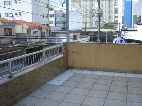 Sobrado Anália Franco Em Local Comercial - Confira !!! - Ta1142