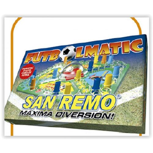 Juego Futbolmatic San Remo Caja