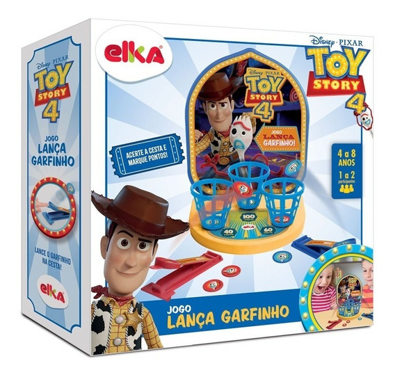 Jogo Lança Garfinho Toy Story 4 Elka 1113