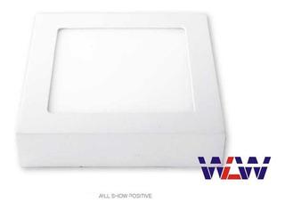 Kit 10 Luminária Painel Plafon Led Sobrepor 24w 25w Quarto
