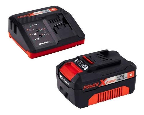 Combo Einhell Cargador Pxc + Bateria Litio Pxc 18v 3,0 Ah