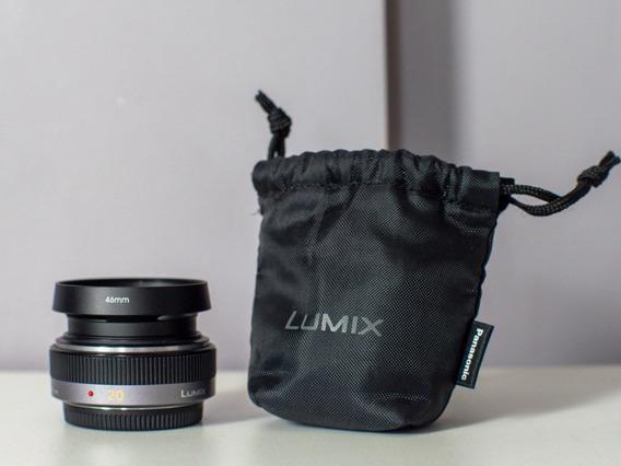 Lente Panasonic Lumix 20mm F1.7 Para Gh5, Bmppc4k, Gh5s, Gh4