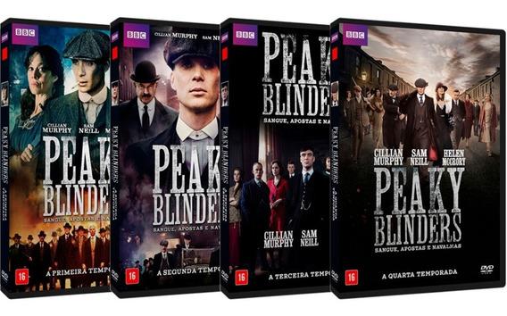 Série Peaky Blinders 1ª A 4ª Temporadas Completas